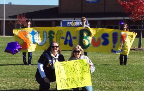 Stuff a Bus with NHS at FHS