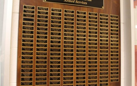 The Armed Forces Plaque: A Labor of Love