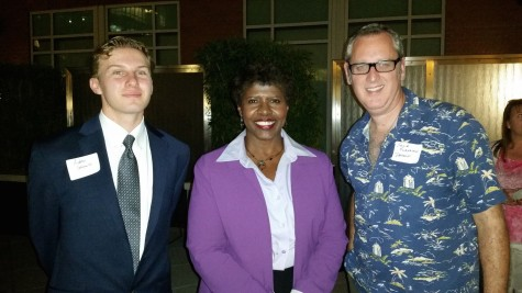 Andrew Sokolowski ('14) met PBS NewsHour Anchor Gwen Ifill during his trip with Mr. Flanagan to Washington D.C. to take part in the PBS NewHour Student Reporting Labs Bootcamp 2014.