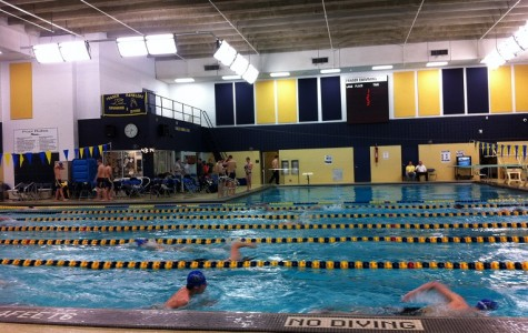 Boys Swim Team Destroys L'anse Cruese