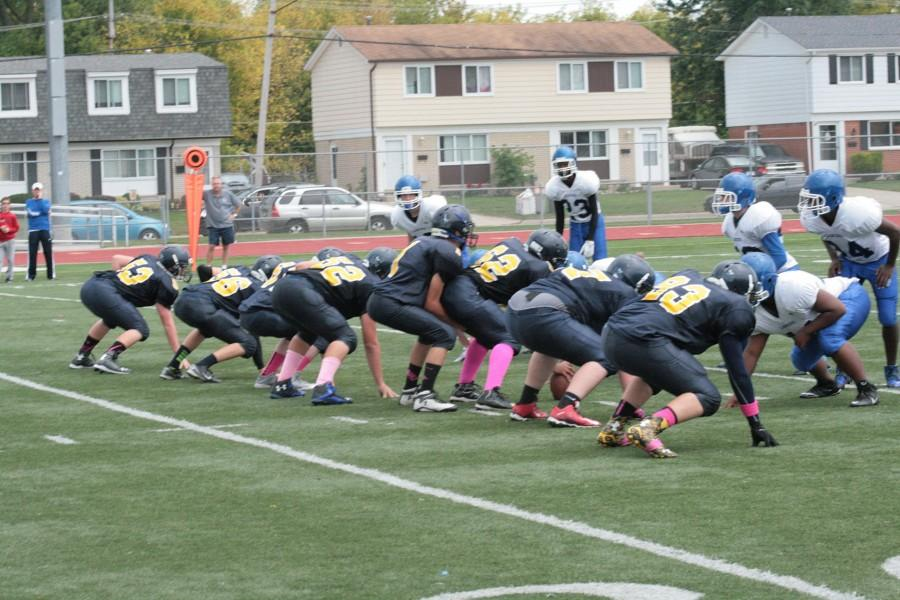 Freshman football lose 30-14 against L'anse Cruise
