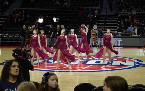 Varsity Dance Team Performs at Detroit Pistons Game