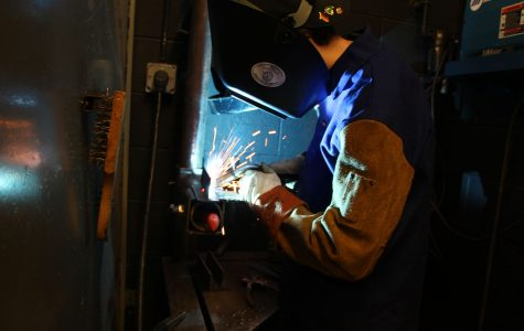 Welding at Fraser High School
