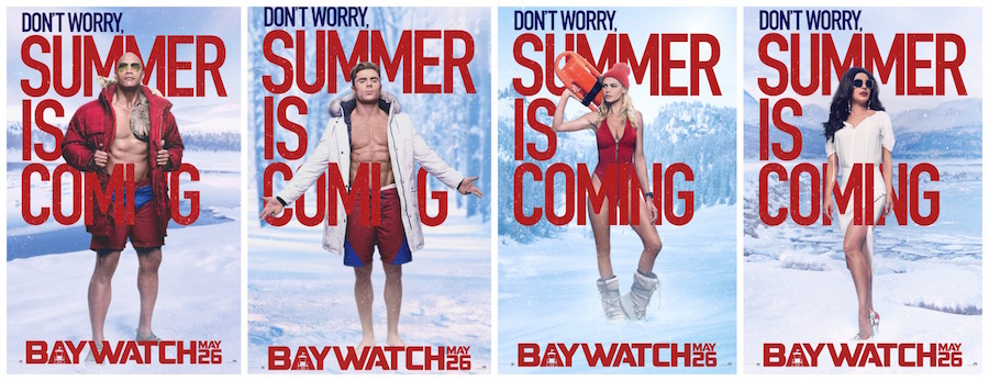 Baywatch Remake Surfing Into Theaters May 26th