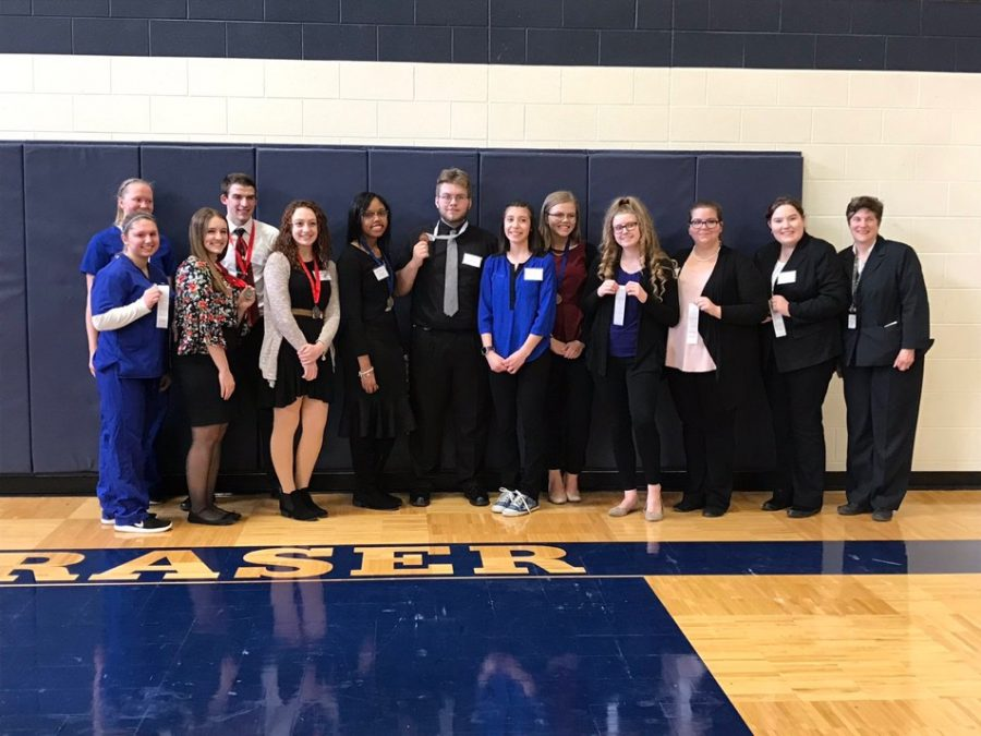 After+awards%2C+HOSA+members+pose+for+a+photo.+From+left+to+right%3A+Cheyenne+Kucinski%2C+Carly+Landry%2C+Allison+Stevenson%2C+Ryan+Querro%2C+Marcella+Miller%2C+Aaliyah+Holt%2C+Alex+Moskos%2C+Elizabeth+Avila%2C+Shelbie+Schwall%2C+Shelby+Wichtner%2C+Sarah+Boguslaw%2C+Olivia+Willems%2C+Mrs.+Van-I.%0ANot+pictured%3A+Jack+Baranski%2C+Sara+Froude%2C+McKayla+Latshaw%2C+Mackayla+Jacklin%2C+Ana+Alexandrova%2C+Katie+Allison%2C+Kayla+Cross%2C+Courtney+Oltman.