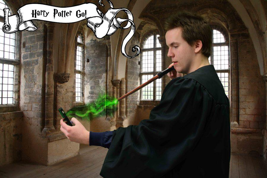 Harry Potter Go! will be a huge app when it is finally released. Aron Geml has his wand at the ready for when it arrives in the app store.