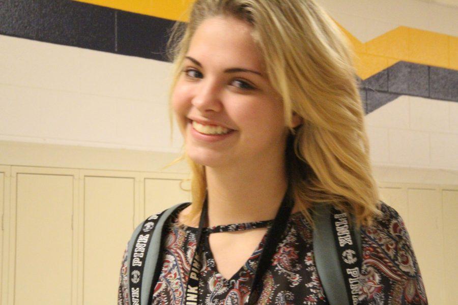 Freshman Gillian Laroche love art. Her talent for drawing is growing and she plans on continuing her growth.