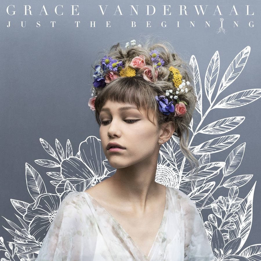 %22Just+the+Beginning%22+album+cover+for+Grace+VanderWaal