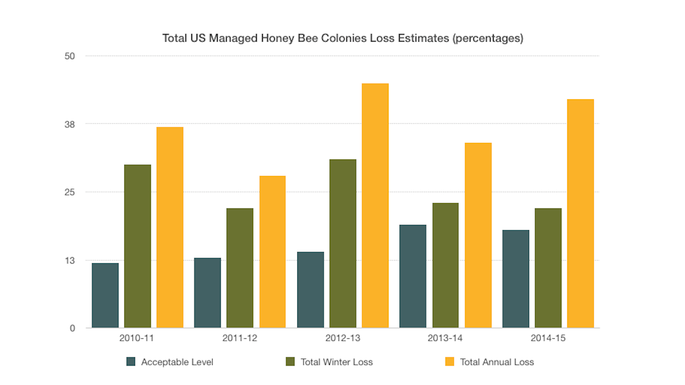 Information from http://beeinformed.org/2015/05/colony-loss-2014-2015-preliminary-results/