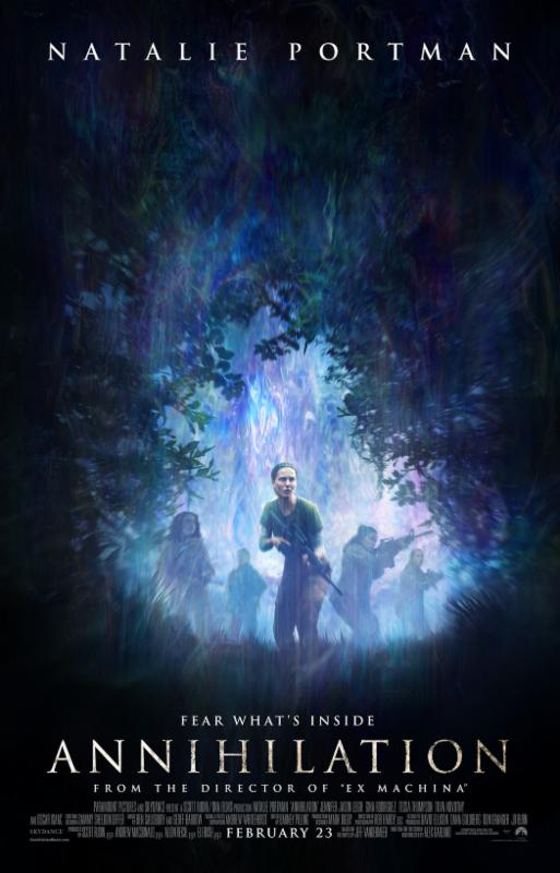 Annihilation; a MUST watch film
