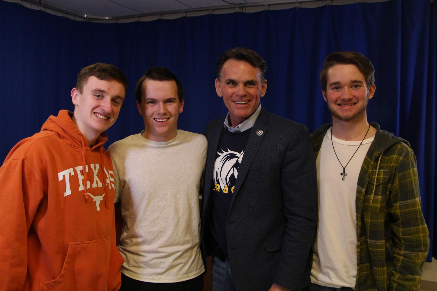 Tune into a all new Hot Seat Sports Talk Guest Starring Macomb County Executive Mark Hackel!