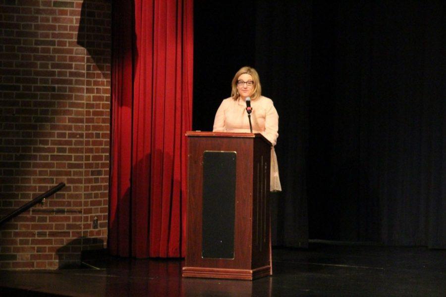 Congratulations Ms. Wozniak!