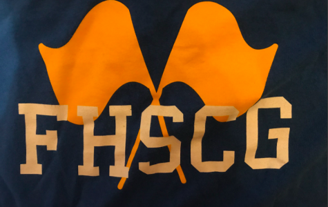 The Color Guard logo of the summer uniform shirt of the 2018 season of Marching Band.