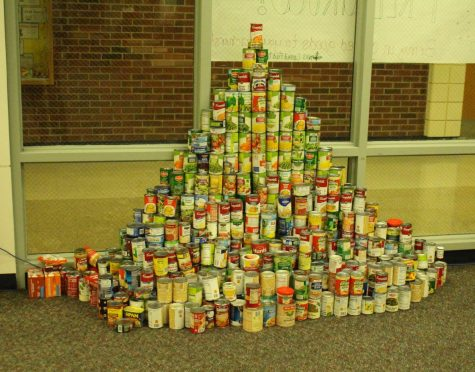 Fraser High School's NHS Canned Food Drive
