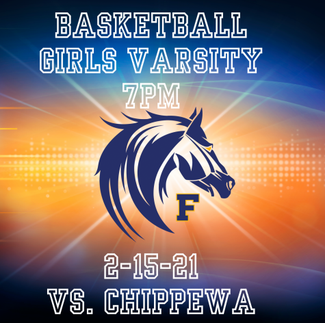 Girls Varsity Basketball Live 7PM 2-15-21