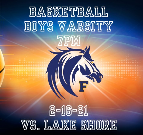 Boys Varsity Basketball Live 7PM 2-16-21