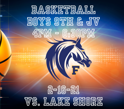 Boys Freshman and JV Basketball live 4p-6:30p 2-16-21